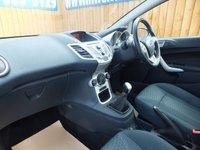 USED 2011 61 FORD FIESTA 1.4 ZETEC TDCI 5d 69 BHP £20 ROAD TAX, BLUETOOTH, FSH