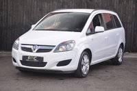 USED 2012 62 VAUXHALL ZAFIRA 1.6 EXCLUSIV 5d 113 BHP 7 Seater