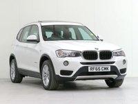 2015 BMW X3 2.0 XDRIVE20D SE 5d AUTO 188 BHP £19418.00