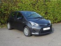 2013 TOYOTA YARIS 1.5 T3 HYBRID 5d AUTO 75 BHP £6690.00