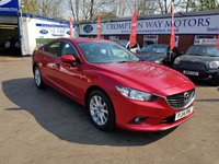 USED 2014 14 MAZDA 6 2.2 D SE NAV 4d 148 BHP 0%  FINANCE AVAILABLE ON THIS CAR PLEASE CALL 01204 393 181