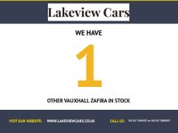 USED 2008 58 VAUXHALL ZAFIRA 1.9 SRI PLUS 16V 5d 150 BHP