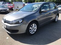 USED 2012 T VOLKSWAGEN GOLF 1.6 MATCH TDI BLUEMOTION TECHNOLOGY DSG 5 DOOR AUTOMATIC 103 BHP WITH ONLY 67000 MILES IN IMMACULATE CONDITION. APPROVED CARS ARE PLEASED TO OFFER THIS VOLKSWAGEN GOLF 1.6 MATCH TDI BLUEMOTION TECHNOLOGY DSG 5 DOOR AUTOMATIC IN METALLIC GREY WITH A GOOD SPEC INCLUDING BLUETOOTH,ALLOYS,CRUISE CONTROL AND A FULL AUTOMATIC GEARBOX WITH A FULL SERVICE HISTORY WITH 7 SERVICE STAMPS IN THE SERVICE BOOK,A GREAT GOLF AT SUCH A SENSIBLE PRICE.
