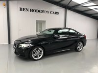 USED 2016 66 BMW 2 SERIES 1.5 218I M SPORT 2d AUTO 134 BHP 1 OWNER FROM NEW, ONLY 18K MILES!