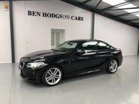 2016 BMW 2 SERIES 1.5 218I M SPORT 2d AUTO 134 BHP £17995.00