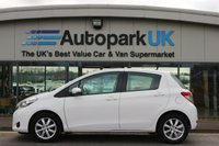 USED 2013 13 TOYOTA YARIS 1.3 VVT-I TR 5d 98 BHP LOW DEPOSIT OR NO DEPOSIT FINANCE AVAILABLE