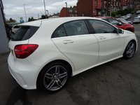 USED 2016 66 MERCEDES-BENZ A CLASS 2.1 A 200 D AMG LINE 5d 134 BHP 1 OWNER OUTSTANDING CONDITION