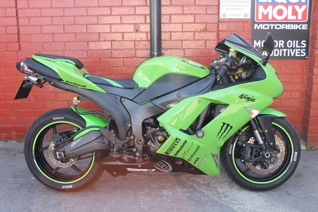 USED 2008 KAWASAKI ZX6 R *12mth Mot, 3 Mth Warranty, Nice Extras, 15K On the Clock* A Cracking Low Mileage ZX6, UK Delivery Available