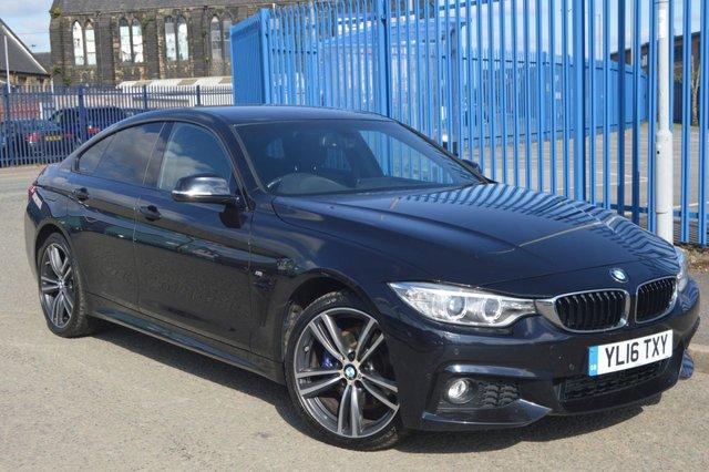 2016 16 BMW 4 SERIES 2.0 420D XDRIVE M SPORT GRAN COUPE 4d 188 BHP