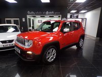 2016 JEEP RENEGADE 1.4 LIMITED 5d AUTO 138 BHP