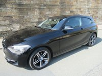 USED 2013 63 BMW 1 SERIES 2.0 116D SPORT 3d 114 BHP