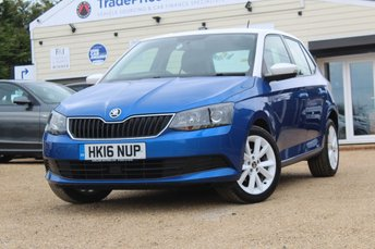 2016 SKODA FABIA 1.2 COLOUR EDITION TSI 5d 89 BHP £8250.00