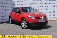 USED 2013 13 NISSAN QASHQAI 1.6 VISIA 5d 117 BHP AIR CON, BLUETOOTH, ALLOYS