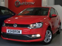 USED 2017 17 VOLKSWAGEN POLO 1.2 TSI MATCH EDITION 3d 90 S/S UPGRADE WINTER PACK INCLUDING HEATED FRONT SEATS & HEADLAMP WASHERS, FRONT & REAR PARKING SENSORS WITH DISPLAY, BLUETOOTH PHONE & MUSIC STREAMING, DAB RADIO, CRUISE CONTROL, AUX & USB, ELECTRIC HEATED FOLDING DOOR MIRRORS, FRONT FOG LIGHTS, TINTED GLASS, 15 INCH TWIN 5 SPOKE ALLOYS, GREY CLOTH INTERIOR, LEATHER FLAT BOTTOM MULTIFUNCTION STEERING WHEEL, AUTO LIGHTS & WIPERS, AIR CONDITIONING, CD HIFI WITH SD CARD READER, ILLUMINATING VANITY MIRRORS, 1 OWNER, FULL SERVICE HIST, VW WARRANTY, £20RFL