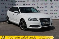 USED 2011 61 AUDI A3 2.0 SPORTBACK TDI S LINE SPECIAL EDITION 5d 138 BHP LOW MILEAGE, £30 TAX, BIG MPG