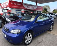 USED 2001 51 VAUXHALL ASTRA COUPE CONVERTIBLE 16V