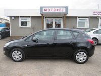 2010 VAUXHALL ASTRA 1.4 EXCLUSIV 5d 98 BHP £3880.00