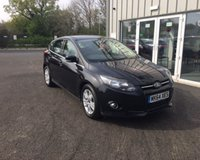 USED 2014 64 FORD FOCUS 1.6 TDCI TITANIUM NAVIGATOR 115 BHP THIS VEHICLE IS AT SITE 2 - TO VIEW CALL US ON 01903 323333