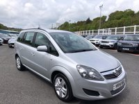 USED 2014 14 VAUXHALL ZAFIRA 1.8 EXCLUSIV 5d 120 BHP Only 39,000 miles & just serviced