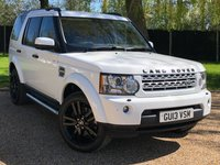USED 2013 13 LAND ROVER DISCOVERY 3.0 SDV6 HSE LUXURY 5d AUTO 255 BHP FANTASTIC LOOKING CAR, GREAT SPEC,SAT NAV LEATHER SEATS