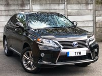 2015 LEXUS RX 3.5 450H ADVANCE PAN ROOF 5d AUTO 295 BHP £25995.00