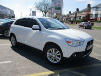 USED 2012 62 MITSUBISHI ASX 1.8 DI-D 4 5d 147 BHP Low Mileage & Large Specification