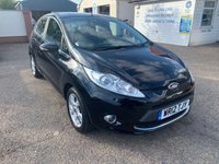 USED 2012 12 FORD FIESTA 1.2 ZETEC 5d 81 BHP LOW MILEAGE / FULL HISTORY X 7 STAMPS