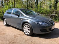 2006 SEAT LEON 1.6 REFERENCE 5d 101 BHP £2450.00