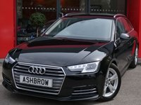 2016 AUDI A4 AVANT 2.0 TDI ULTRA SPORT 5d 190 S/S £13283.00