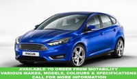 USED 2016 65 FORD FOCUS 1.6 TITANIUM 5d AUTO 124 BHP This VEHICLE CAN BE ORDERED FROM MOTABILITY
