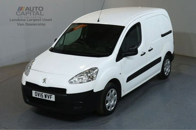 2015 15 PEUGEOT PARTNER 1.6 HDI PROFESSIONAL L1 625 75 BHP SWB AIR CON ONE OWNER S/H SPARE KEY