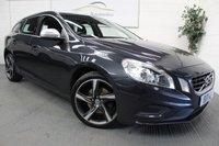 2011 VOLVO V60 1.6 DRIVE R-DESIGN S/S 5d 113 BHP £SOLD