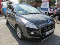2011 PEUGEOT 3008 1.6 EXCLUSIVE HDI 5d AUTO 112 BHP £6500.00