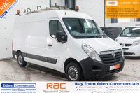 2011 VAUXHALL MOVANO 2.3 F3500 L2H2 CDTI *EX SCOTTISH POWER*  £5995.00