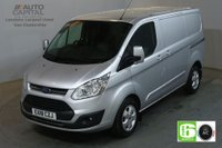 USED 2018 18 FORD TRANSIT CUSTOM 2.0 290 LIMITED 130 BHP L1 H1 SWB EURO 6 AIR CON VAN AIR CONDITIONING EURO 6 LTD