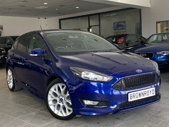 2017 FORD FOCUS 1.5 ST-LINE TDCI 5d 118 BHP £12990.00