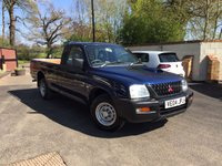 2004 MITSUBISHI L200 2.5 TD SINGLE CAB 2WD 88 BHP ONE OWNER RARE FIND NO VAT