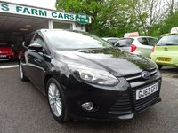 USED 2013 63 FORD FOCUS 1.0 ZETEC 5d 124 BHP Low Mileage, Serviced by ourselves, MOT until May 2020, Great fuel economy! Only £30 Road Tax!