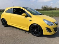 2012 VAUXHALL CORSA 1.2 LIMITED EDITION 3d 83 BHP £4995.00