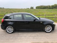 USED 2007 07 BMW 1 SERIES 2.0 118D M SPORT 5d 141 BHP