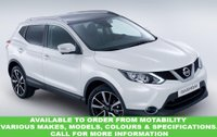 USED 2016 16 NISSAN QASHQAI 1.5 DCI ACENTA SMART VISION 5d 108 BHP This VEHICLE CAN BE ORDERED FROM MOTABILITY