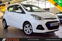 USED 2016 16 HYUNDAI I10 1.2 SE 5d 86 BHP + 1 OWNER  + 15 MONTHS WARRANTY + 12 MONTHS MOT +