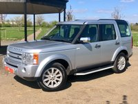 2009 LAND ROVER DISCOVERY 3 2.7TDV6 SE AUTO 188 BHP 7 SEATER 5 DR ESTATE £7749.00