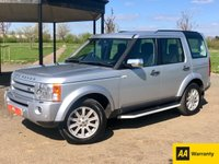 USED 2009 09 LAND ROVER DISCOVERY 3 2.7TDV6 SE AUTO 188 BHP 7 SEATER 5 DR ESTATE