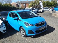 USED 2016 66 PEUGEOT 108 1.0 ACTIVE 3d 68 BHP ONE OWNER From New with SERVICE HISTORY