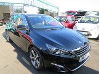 USED 2015 64 PEUGEOT 308 1.6 E-HDI ALLURE 5d 114 BHP ***JUST ARRIVED...TEST DRIVE TODAY***NO DEPOSIT DEALS