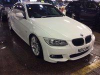 2012 BMW 3 SERIES 2.0 320D M SPORT 2d 181 BHP £10450.00