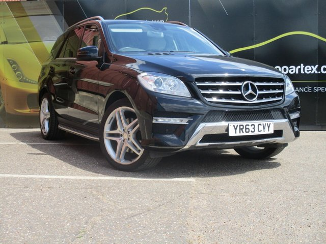 2013 63 MERCEDES-BENZ M CLASS 2.1 ML250 BLUETEC AMG SPORT 5d AUTO 204 BHP