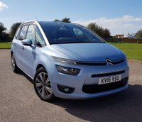 2016 CITROEN C4 GRAND PICASSO 1.6 BLUEHDI EXCLUSIVE PLUS 5d AUTO 118 BHP £13995.00