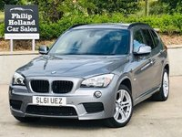 USED 2011 61 BMW X1 2.0 XDRIVE18D M SPORT 5d 141 BHP Full leather, Heated seats, Cruise control, Comfort pack